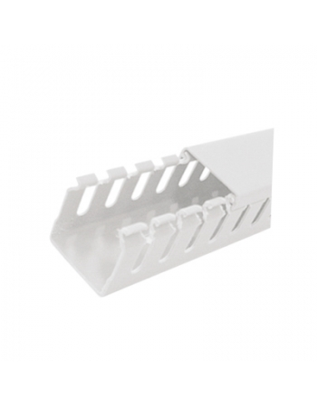 CANALETA PVC ABERTA BRANCA 20X20X2,0M 62097
