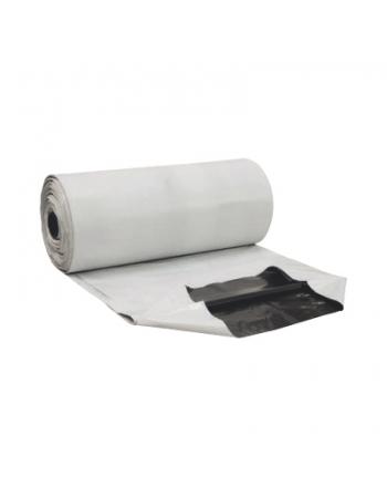 LONA PLASTICA SILO PLUS BRANCA/PRETA 8X50M 38KG REF 150