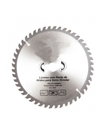 DISCO SERRA CIRCULAR WIDEA 9.1/4 - 200X30MM 36 DENTES