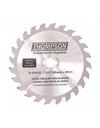 DISCO SERRA CIRCULAR WIDEA 4.3/8X20MM 24 DENTES THOMPSON