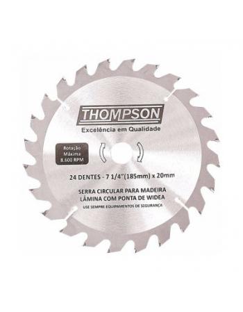 DISCO SERRA CIRCULAR WIDEA 7.1/4X20MM 24 DENTES THOMPSON