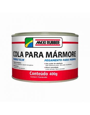 COLA PARA MARMORES E GRANITOS MAXI RUBBER 400G