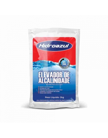ELEVADOR DE ALCALINIDADE PARA PISCINA PO 2KG