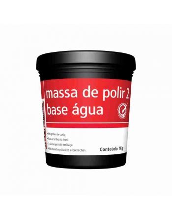 MASSA DE POLIR NUMERO 2 BASE DAGUA 1KG