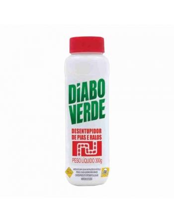 DESENTUPIDOR DIABO VERDE GRANULADO 300G