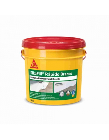 SIKAFILL RAPIDO MANTA LIQUIDA BRANCA 15KG