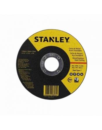 DISCO CORTE ACO INOX CORTE FINO 4.1/2X1,0MM STANLEY