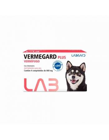 VERMIFUGO PARA CAES VERMEGARD PLUS 4 CP 660MG