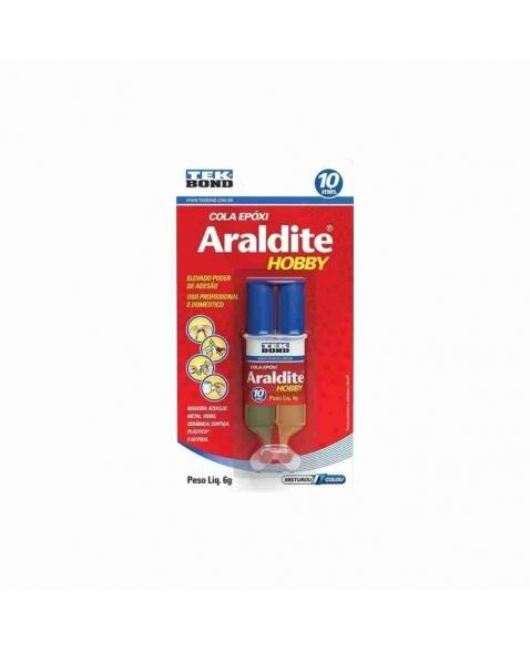 ARALDITE TRANSPARENTE SEGINGA 6G